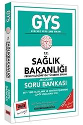 Yargı Yayınları - Yargı Yayınları 2020 GYS T.C.Sağlık Bakanlığı Şef-Veri Hazırlama ve Kontrol İşletmeni-Şoför Unvanları İçin Açıklamalı Soru Bankası