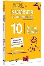 Yargı Yayınları - Yargı Yayınları 2020 Komiser Yardımcılığı Sınavına Hazırlık 10 Deneme Sınavı 8. Baskı