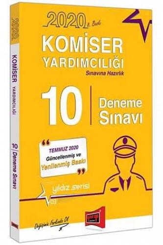 Yargı Yayınları 2020 Komiser Yardımcılığı Sınavına Hazırlık 10 Deneme Sınavı 8. Baskı