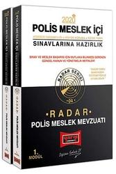 Yargı Yayınları - Yargı Yayınları 2020 Polis Meslek İçi Sınavlarına Hazırlık Radar Modüler Polis Meslek Mevzuatı
