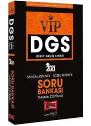 Yargı Yayınları - Yargı Yayınları 2021 DGS VIP Sayısal Sözel Yetenek Tamamı Çözümlü Soru Bankası