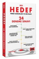 Yargı Yayınları - Yargı Yayınları 2021 Hedef Vergi Kanunları ve Mevzuatı 24 Deneme Sınavı