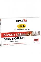 Yargı Yayınları - Yargı Yayınları 2021 KPSS Divan-ı Tarih Ders Notları