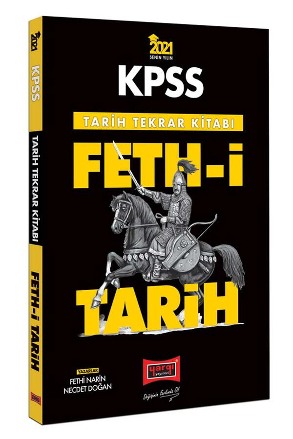 Yargı Yayınları - Yargı Yayınları 2021 KPSS Feth-i Tarih Tekrar Kitabı