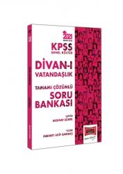 Yargı Yayınları - Yargı Yayınları 2021 KPSS Genel Kültür Divan-ı Vatandaşlık Tamamı Çözümlü Soru Bankası