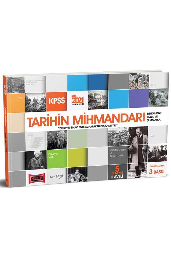 Yargı Yayınları - Yargı Yayınları 2021 KPSS Tarihin Mihmandarı