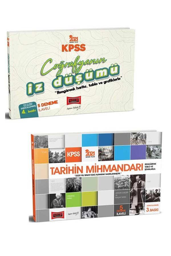 Yargı Yayınları - Yargı Yayınları 2021 KPSS Tarihin Mihmandarı Coğrafyanın İz Düşümü Seti