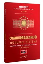 Yargı Yayınları - Yargı Yayınları 2021 KPSS ve Tüm Kurum Sınavları İçin Cumhurbaşkanlığı Hükümet Sistemi Tamamı Ayrıntılı Çözümlü Sorular