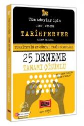 Yargı Yayınları - Yargı Yayınları 2021 Tüm Adaylar İçin TARİHPERVER Tamamı Çözümlü 25 Deneme