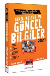 Yargı Yayınları - Yargı Yayınları 2021 Vatandaşlık Soruları ile Güçlendirilmiş Genel Kültür ve Güncel Bilgiler