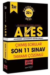Yargı Yayınları - Yargı Yayınları 2022 ALES Ekonomik Seri Tamamı Çözümlü Çıkmış Sorular Son 11 Sınav