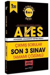 Yargı Yayınları - Yargı Yayınları 2022 ALES Ekonomik Seri Tamamı Çözümlü Çıkmış Sorular Son 3 Sınav