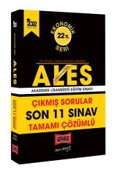 Yargı Yayınları - Yargı Yayınları 2022 ALES Ekonomik Seri Tamamı Çözümlü Son 11 Sınav Çıkmış Sorular