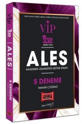 Yargı Yayınları - Yargı Yayınları 2022 ALES VIP Tamamı Çözümlü 5 Deneme
