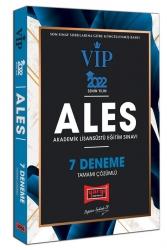 Yargı Yayınları - Yargı Yayınları 2022 ALES VIP Tamamı Çözümlü 7 Deneme
