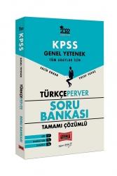Yargı Yayınları - Yargı Yayınları 2022 Genel Yetenek TürkçePerver Tamamı Çözümlü Soru Bankası