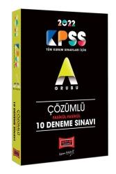 Yargı Yayınları - Yargı Yayınları 2022 KPSS A Grubu Fasikül Fasikül Çözümlü 10 Deneme Sınavı