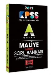 Yargı Yayınları - Yargı Yayınları 2022 KPSS A Grubu Maliye Çözümlü Soru Bankası