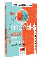 Yargı Yayınları - Yargı Yayınları 2022 KPSS ALES DGS YKS Tamamı Çözümlü Sözel Mantık ve Muhakeme 360 Soru Bankası