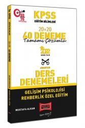Yargı Yayınları - Yargı Yayınları 2022 KPSS Eğitim Bilimleri Gelişim Psikolojisi Rehberlik Özel Eğitim Tamamı Çözümlü 20+20 40 Deneme