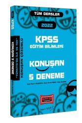 Yargı Yayınları - Yargı Yayınları 2022 KPSS Eğitim Bilimleri Konuşan 5 Deneme