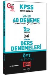 Yargı Yayınları - Yargı Yayınları 2022 KPSS Eğitim Bilimleri ÖYT PG SY ÖTMT Tamamı Çözümlü 20+20 40 Deneme