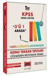 Yargı Yayınları - Yargı Yayınları 2022 KPSS Genel Kültür 3'ü 1 Arada Konu Tekrar Testleri
