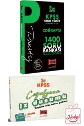 Yargı Yayınları - Yargı Yayınları 2022 KPSS Genel Kültür Coğrafya Prestij Seri Tamamı Çözümlü 1400 Soru Bankası İz Düşümü Hediyeli