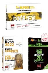 Yargı Yayınları - Yargı Yayınları 2022 KPSS Genel Kültür Coğrafya Soru Deneme ve El Yazısı Notları Seti