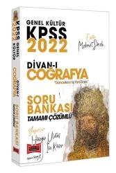 Yargı Yayınları - Yargı Yayınları 2022 KPSS Genel Kültür Divan-ı Coğrafya Tamamı Çözümlü Soru Bankası