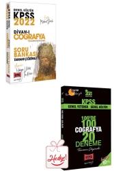 Yargı Yayınları - Yargı Yayınları 2022 KPSS Genel Kültür Divan-ı Coğrafya Tamamı Çözümlü Soru Bankası ve 20 Deneme Hediyeli