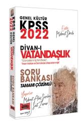Yargı Yayınları - Yargı Yayınları 2022 KPSS Genel Kültür Divan-ı Vatandaşlık Tamamı Çözümlü Soru Bankası
