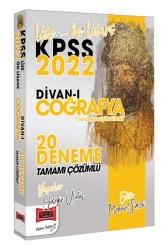 Yargı Yayınları - Yargı Yayınları 2022 KPSS Lise Ön Lisans Divanı Coğrafya Tamamı Çözümlü 20 Deneme
