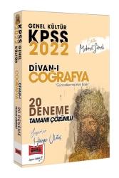 Yargı Yayınları - Yargı Yayınları 2022 KPSS Genel Kültür Divanı Coğrafya Tamamı Çözümlü 20 Deneme