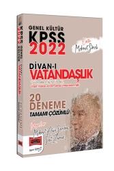 Yargı Yayınları - Yargı Yayınları 2022 KPSS Genel Kültür Divanı Vatandaşlık Tamamı Çözümlü 20 Deneme