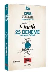 Yargı Yayınları - Yargı Yayınları 2022 KPSS Genel Kültür Hatt-ı Hümayun Tarih Tamamı Çözümlü 25 Deneme