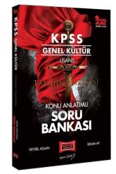 Yargı Yayınları - Yargı Yayınları 2022 KPSS Genel Kültür Lisans Tarihin Hazinesi Konu Anlatımlı Soru Bankası