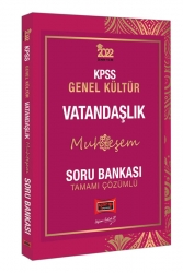 Yargı Yayınları - Yargı Yayınları 2022 KPSS Genel Kültür Muhteşem Vatandaşlık Tamamı Çözümlü Soru Bankası