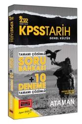 Yargı Yayınları - Yargı Yayınları 2022 KPSS Genel Kültür Tarih Ataman Tamamı Çözümlü Soru Bankası + 10 Deneme