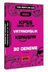 Yargı Yayınları - Yargı Yayınları 2022 KPSS Tüm Adaylar İçin Genel Kültür Vatandaşlık Konuşan 30 Deneme