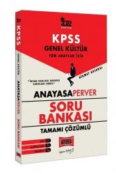 Yargı Yayınları - Yargı Yayınları 2022 KPSS Genel Kütlür Tüm Adaylar İçin AnayasaPerver Tamamı Çözümlü Soru Bankası