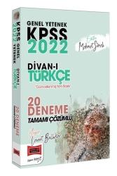 Yargı Yayınları - Yargı Yayınları 2022 KPSS Genel Yetenek Divanı Türkçe Tamamı Çözümlü 20 Deneme