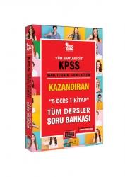 Yargı Yayınları - Yargı Yayınları 2022 KPSS Genel Yetenek Genel Kültür 5 Ders 1 Kitap Kazandıran Tüm Dersler Soru Bankası
