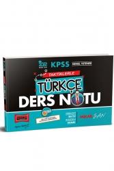 Yargı Yayınları - Yargı Yayınları 2022 KPSS Genel Yetenek Taktiklerle Türkçe Ders Notu