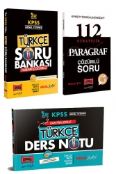 Yargı Yayınları - Yargı Yayınları 2022 KPSS Genel Yetenek Türkçe Soru Bankası ve Ders Notu Seti