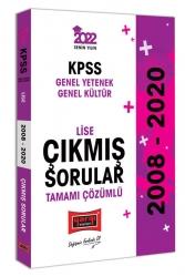 Yargı Yayınları - Yargı Yayınları 2022 KPSS GY GK Lise Tamamı Çözümlü Çıkmış Sorular