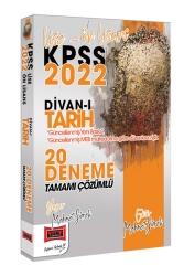 Yargı Yayınları - Yargı Yayınları 2022 KPSS Lise Ön Lisans Divanı Tarih Tamamı Çözümlü 20 Deneme