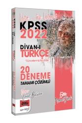 Yargı Yayınları - Yargı Yayınları 2022 KPSS Lise Ön Lisans Divanı Türkçe Tamamı Çözümlü 20 Deneme