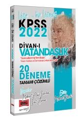 Yargı Yayınları - Yargı Yayınları 2022 KPSS Lise Ön Lisans Divanı Vatandaşlık Tamamı Çözümlü 20 Deneme