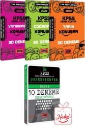 Yargı Yayınları - Yargı Yayınları 2022 KPSS Tüm Adaylar İçin Genel Kültür 30 Deneme Seti DenemePerver Hediyeli